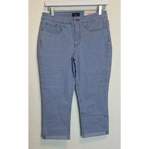 NWT NYDJ Women's 6 Petite Chloe Slim Fit Jeans